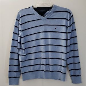 Tommy Hilfiger | Sweater | Size Lrg | Blue Stripe
